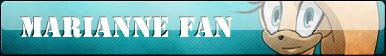 Marianne The Hedgehog Fan Button :COMM: