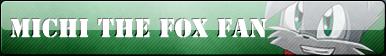 Michi The Fox Fan Button :COMM: