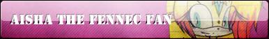 Aisha The Fennec Fan Button :COMM: