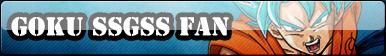 Goku SSGSS Fan Button