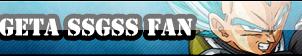 Vegeta SSGSS Fan Button by Mi-ChanComm
