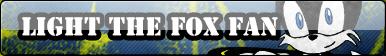 Light the Fox Fan Button