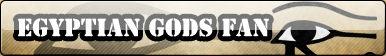 Egyptian Gods Fan Button :COMM: