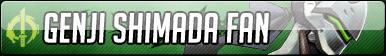 Genji Shimada Fan Button - Free to use
