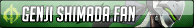 Genji Shimada Fan Button - Free to use by Mi-ChanComm