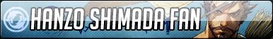 Hanzo Shimada Fan Button - Free to use