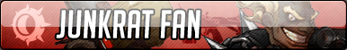 Junkrat Fan Button - Free to use