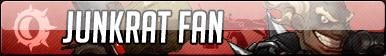 Junkrat Fan Button - Free to use by Mi-ChanComm