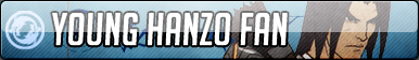 Young Hanzo Fan Button - Free to use by Mi-ChanComm
