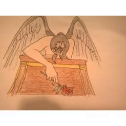 Fallen Angel by kellirox14