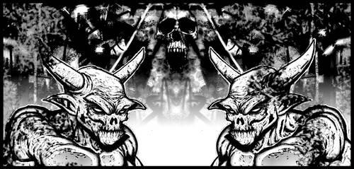 demon t-shirt graphics