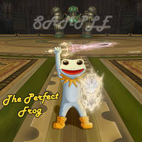 [Commission] The Perfect Frog_ FFXIV online by Heomura