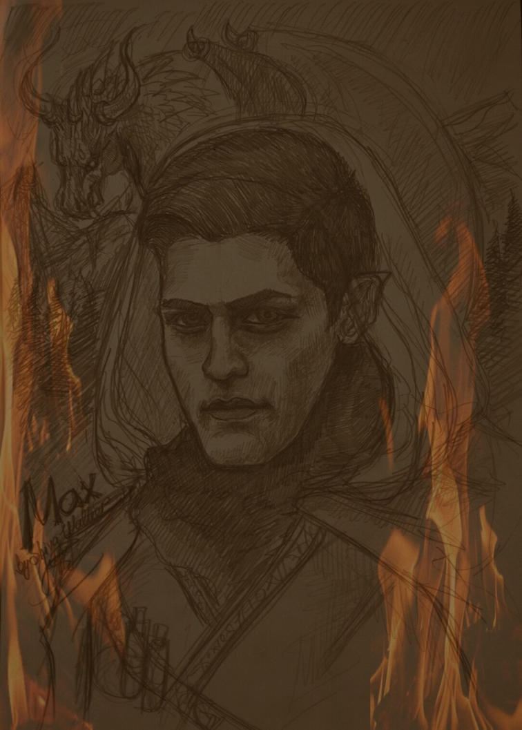 Dragonborn Max by ShivaWalker