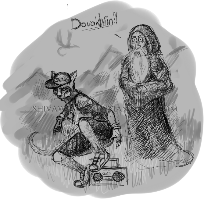 Rap Dovakhiin by ShivaWalker