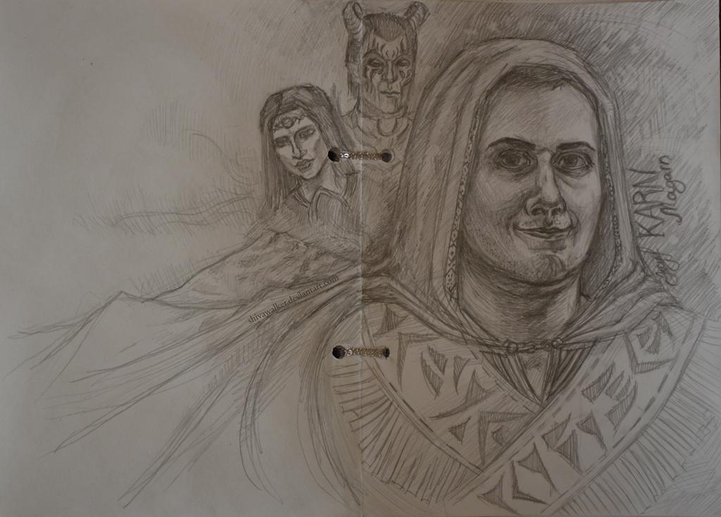 Karn in Skyrim by ShivaWalker