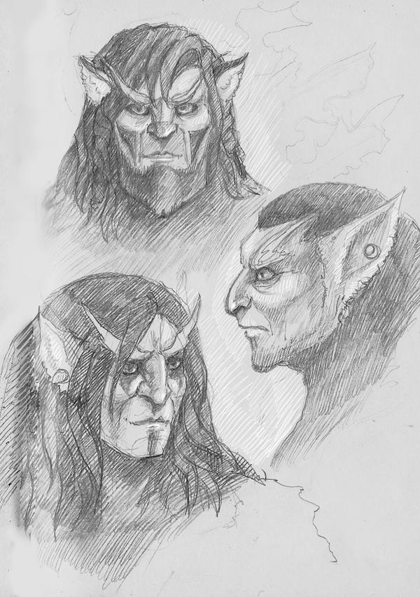 pridens. sketches by ShivaWalker