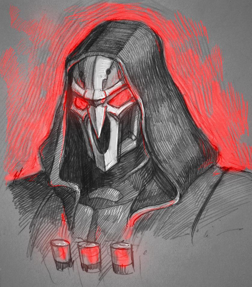 reaper sketch by ShivaWalker