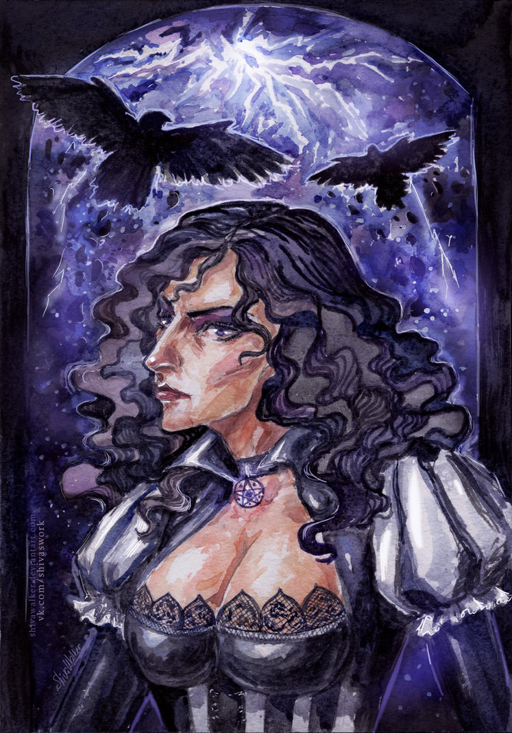 Yennefer by ShivaWalker