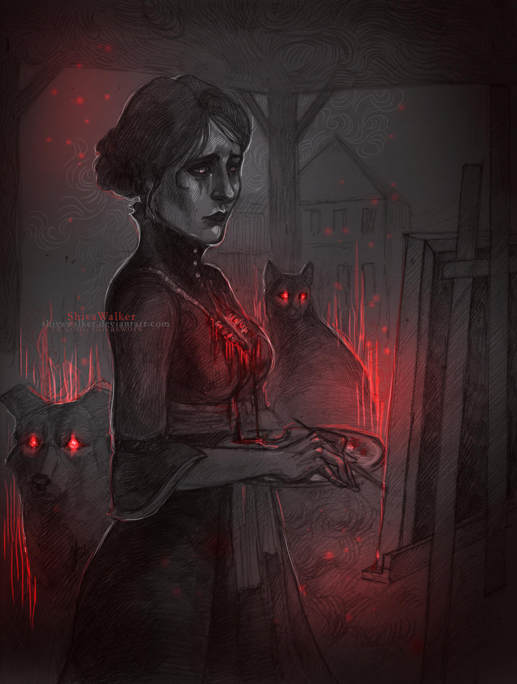 Iris|Hearts of Stone by ShivaWalker