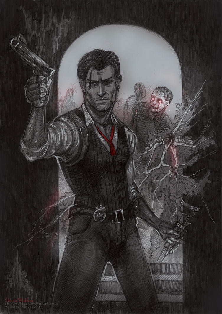 Into The Mind|The Evil Within by ShivaWalker