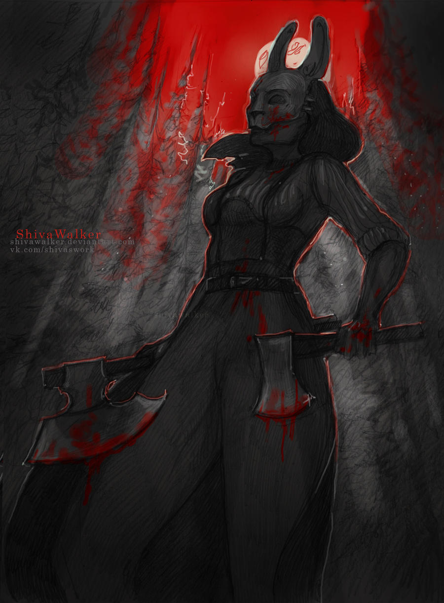 Dead by Daylight |The Huntress by ShivaWalker