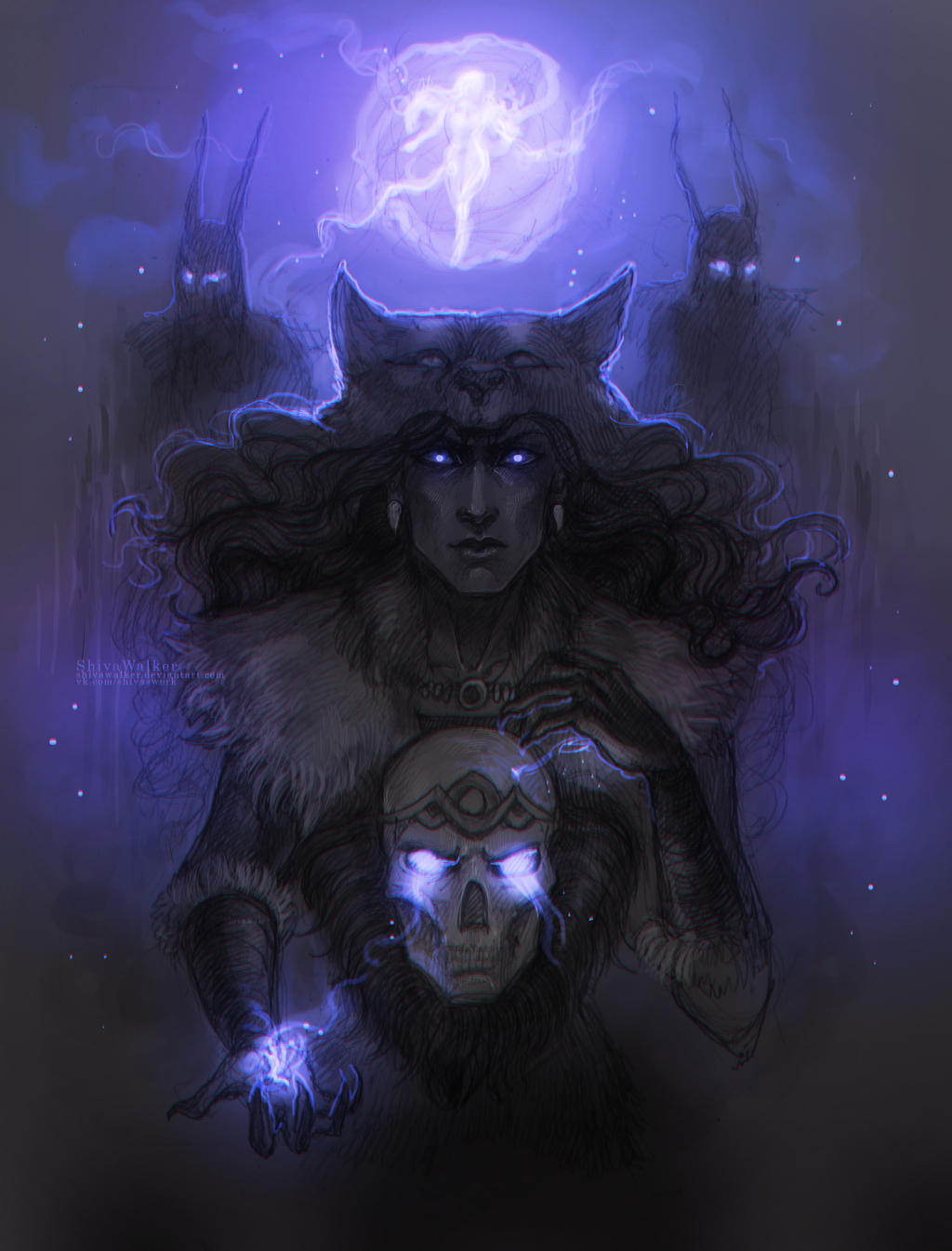 wolf queen | Potema Septim by ShivaWalker
