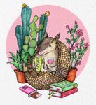 Introverted armadillo
