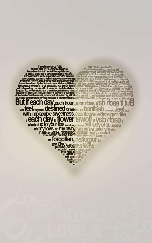 Love Poem Typography.2 by pattysmear
