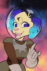 Art Fight 2021: Space Dog