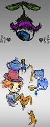 Alice in Wonderland by 0LightWizard0