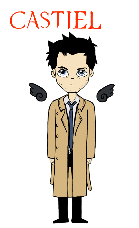 Castiel by Joy-Pedler