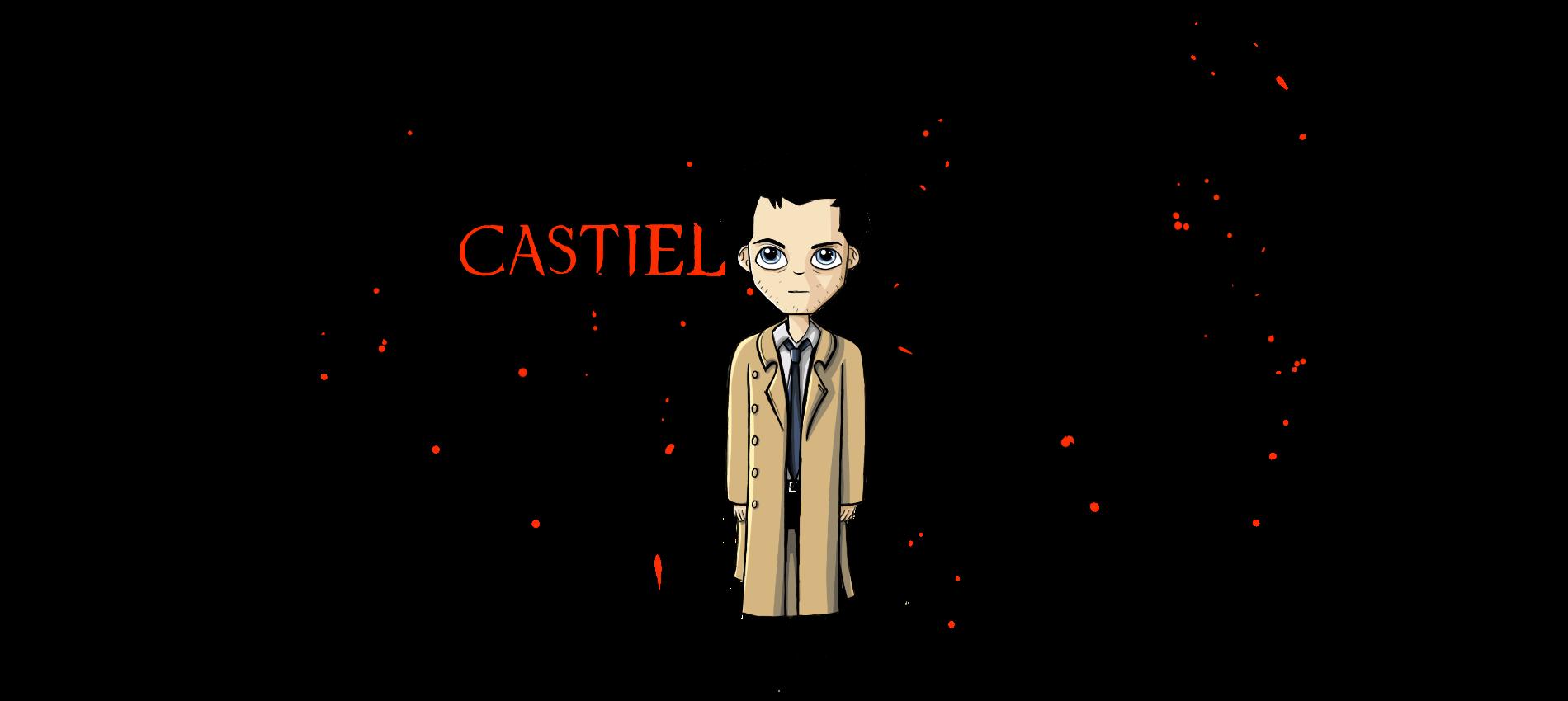 Castiel with Wings by Joy-Pedler