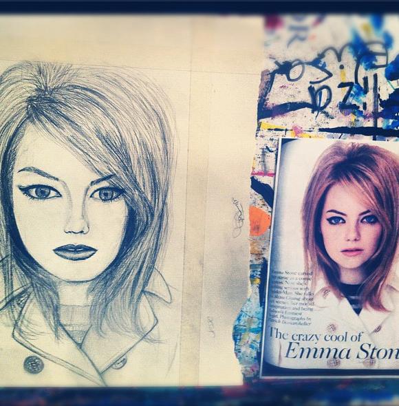 Emma Stone by Joy-Pedler