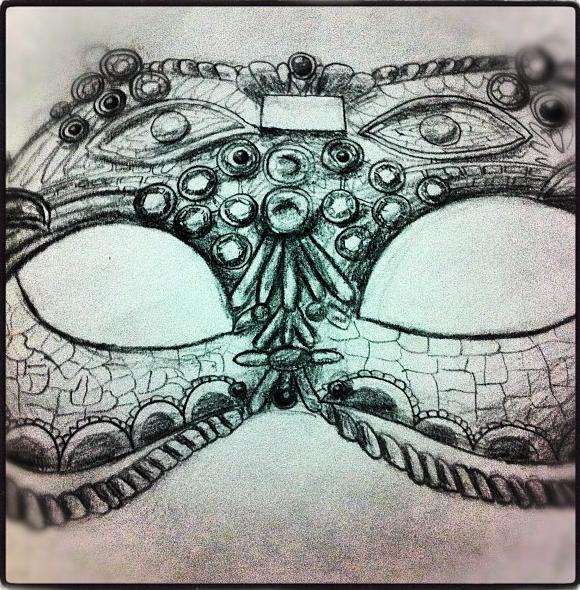 Venetian Mask by Joy-Pedler