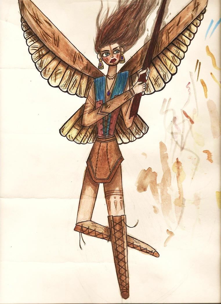 Angel Warrior by Joy-Pedler