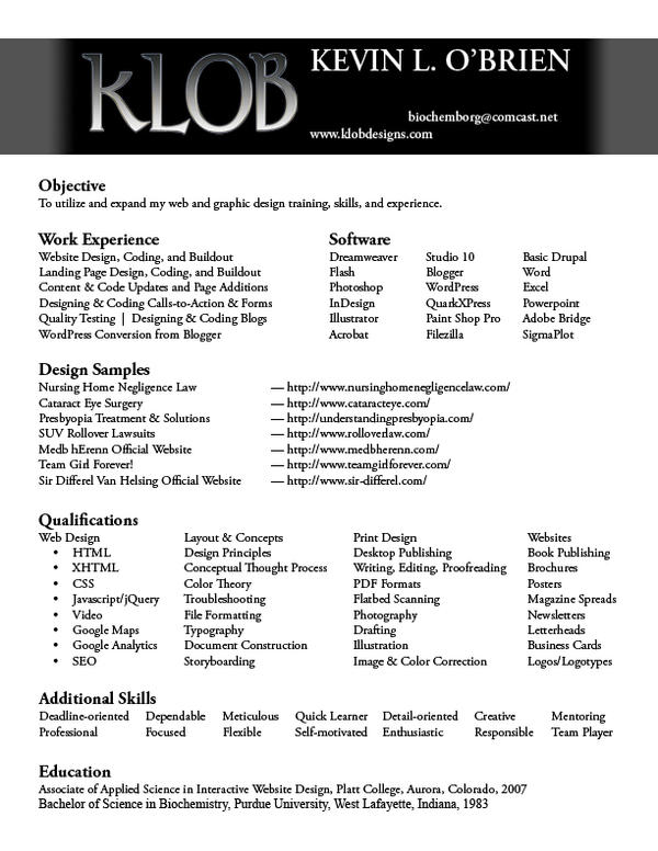 Resume Service Think Bould