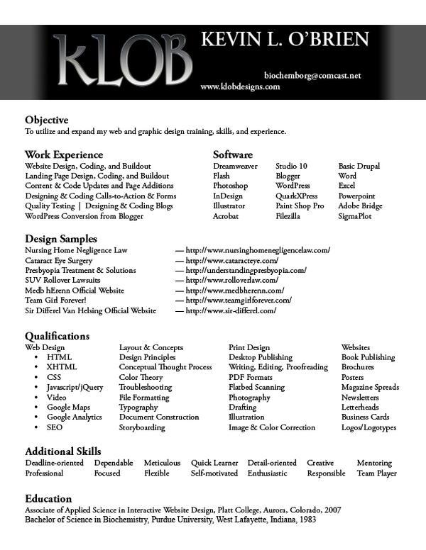 klob resume by teamgirl