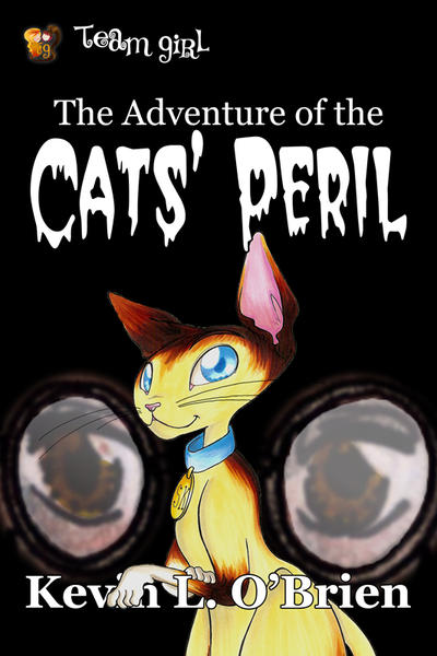 eBook Cover: Cats' Peril by TeamGirl-Differel