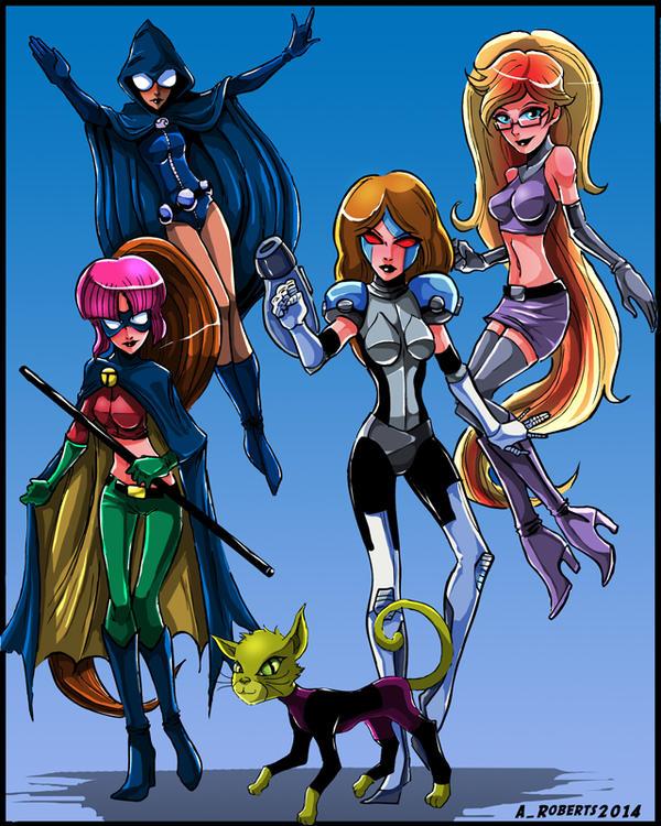 Team Titans GO! by TeamGirl-Differel