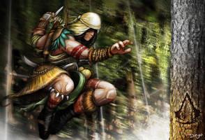 Assassin's Creed Brasil - concept by diegooaalmeida