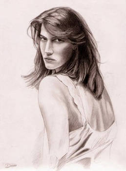 drawing a girl..