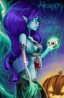 Morgana Zombie Skin - League of Legends by Riyavi