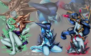 Lissandra all - League of Legends by Riyavi