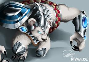 Volibear - League of Legends by Riyavi