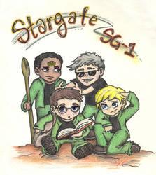 Stargate Team by meek-minx