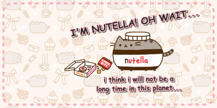 Pusheen Cat Nutella by iheartpusheencat ...  sc 1 st  DeviantArt & Pusheen Cat Nutella by iheartpusheencat on DeviantArt