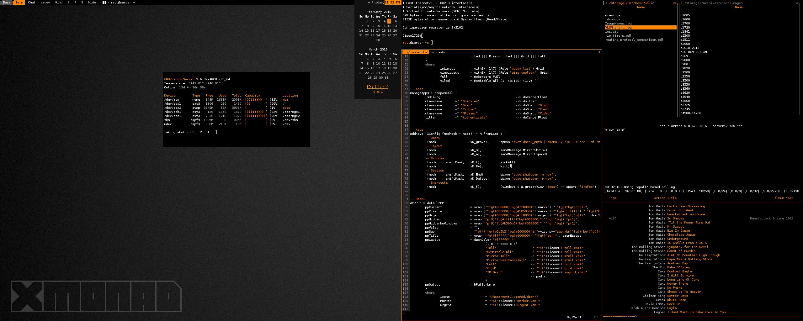 Xmonad 0.9.1 by graveyardpc