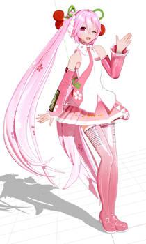 my bootleg version of yyb's sakura model LOL