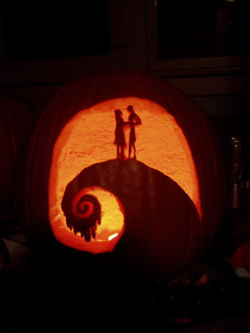 Jack And Sally On The Hill By 7anya On Deviantart