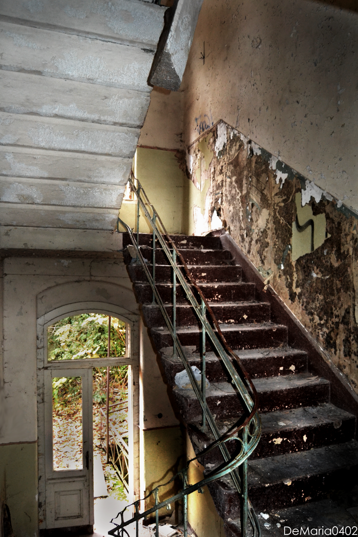 Lost Place Sanatorium House 1 by DeMaria0402